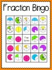 Fraction Bingo (30 completely different cards & calling ca