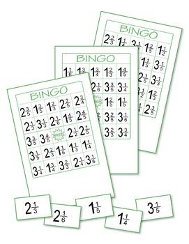 Fractions Bingo 4