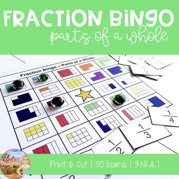 Fraction Bingo - Common Core