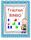 Fraction Bingo Game {First Grade CCSS 1.G.3}