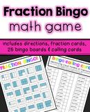 Fraction Bingo Game