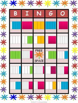 Fraction Bingo Game Combo Pack Grades 3 and 4
