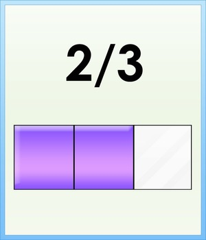 Fraction Bingo Game and Flashcards