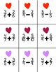 Fraction Bingo - Valentine's Day
