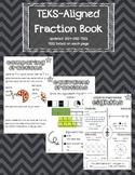 Fraction Book- TEKS Aligned