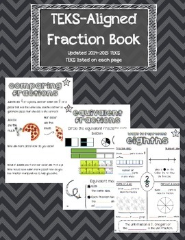 Fraction Book- TEKS Aligned