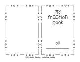 Fraction Book - Blank