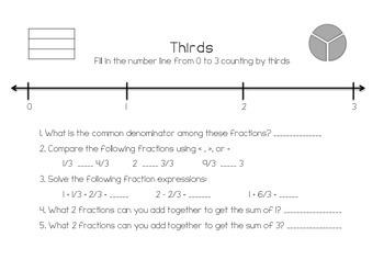 Fraction Booklet