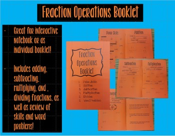 Fraction Operations Booklet