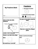 Fraction Booklet For Kids