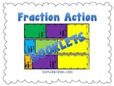 Fraction Booklets for Comparing, Ordering and Equivalent Fractions