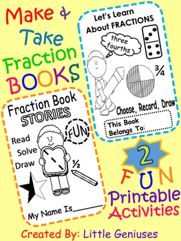 Fraction Books~ Make and Take It!