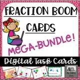 Fraction Boom Cards - Self-Checking -Digital -Growing Bund