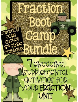 Fraction Boot Camp - Activity Bundle