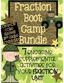 Fraction Boot Camp - Activity Bundle
