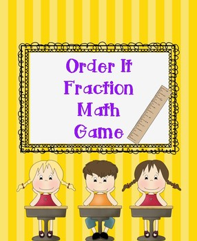 Fraction Build It Math Game