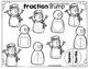Fraction Bump Games - Equal vs. Not Equal, Halves & Fourths