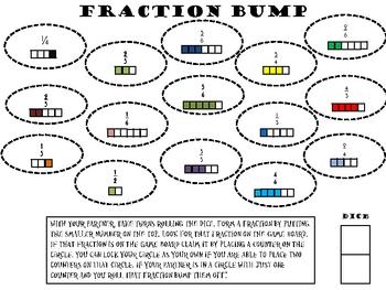 Fraction Bump Using Dice