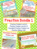 Fraction Bundle 1 - Includes 4 Fraction Hands-On Activities