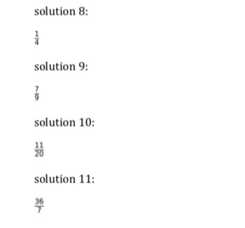 Fraction Bundle (100 addition, subtraction, multiplication and div Questions)