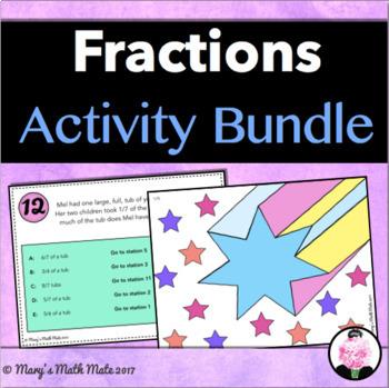Fraction Activity Bundle