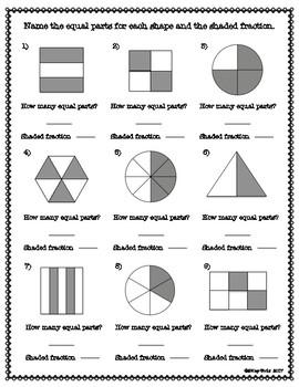 Fraction Bundle 3rd Grade