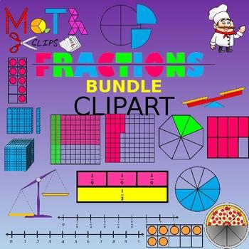Fraction Bundle Clipart
