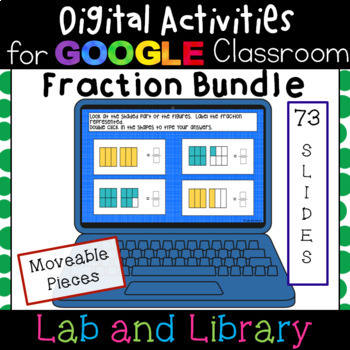 Fraction Bundle: Digital Activities for Google Classroom