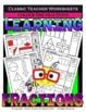 Fraction Bundle - Learning Fractions - Set 1 - 2nd-3rd Grade (Grades 2-3)
