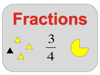Fraction Bundle (assessments, slideshows, games, and activities)