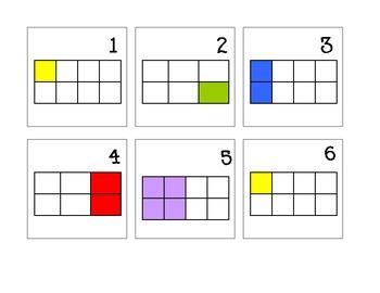 Fraction Calendar Math Pattern