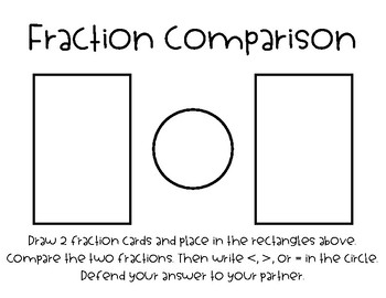 Fraction Cards and Activities