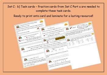 Fraction Cards - Match, Sort, Compare, Read, Write and Think!