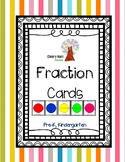 Fraction Cards Packet