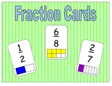 Fraction Cards (addition, subtraction, comparing, ordering)