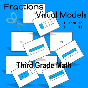 Fraction Cards for Visual Learners