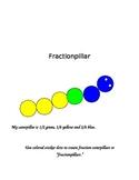 Fraction Caterpillar!