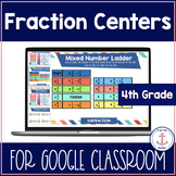 Fraction Games 4th Grade  Digital Google Classroom distanc