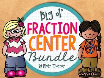 Fraction Center BUNDLE!