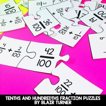 Fraction Centers Bundle: 4th Grade Math Test Prep