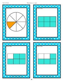 Math Centers: Fractions, Decimals & Percents