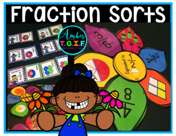 Fraction Centers for Spring Identifying Fractions Equivale