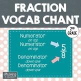 Fraction Chant - Vocabulary