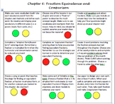 Fraction Choice Board