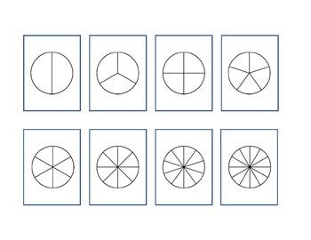 Fraction Circle Blacklines