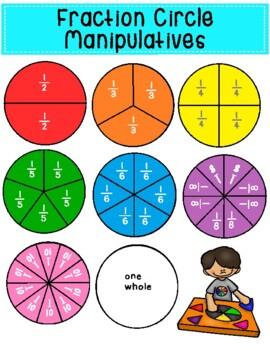 Fraction Circle Manipulatives