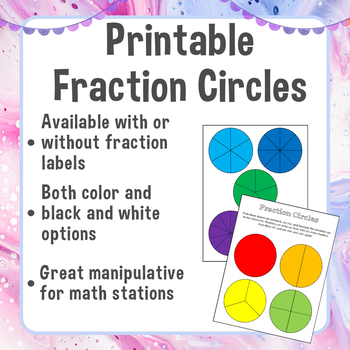 This is a graphic of Fraction Manipulatives Printable inside equivalent fraction card