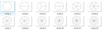 Fraction Circle Template