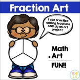 Fraction Circles Art STEAM