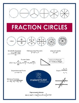 FREE Fraction Circles Bingo